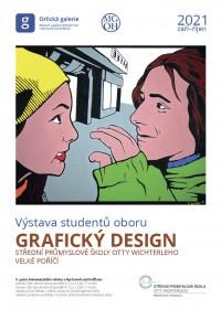 Výstava studentů oboru Grafický design Střední průmyslové školy Otty Wichterleho
